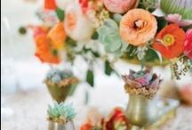 Orange Wedding Inspiration / Orange Wedding Inspiration / by Rachel May