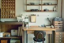 Craft office workroom / by Victoria Tebbs