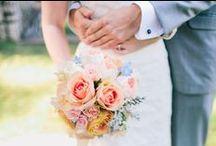 Peach Wedding Inspiration / by Rachel May