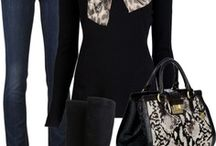 Closet Crush / Looks I adore and use to style my own wardrobe. / by Alissha Mitchell
