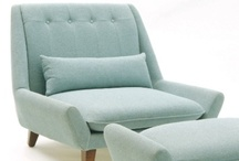 Mid-Century Seating / Vintage mid-century and new furniture that follows the mid-century modern style. / by Ronda