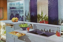 Mid-Century Kitchens, Dining Rooms and Laundry Rooms / Most pins are from the 50's and 60's. Some are current designs based on mid-century modern style. / by Ronda