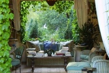 Outdoor Living / What's Trending In Outdoor Living Areas by the #IntDesignerChat Global Community. / by InteriorDesignerChat
