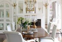 2014 Dining Rooms Trends / Designer and Design Bloggers share Dining Rooms Trends For 2014. / by InteriorDesignerChat