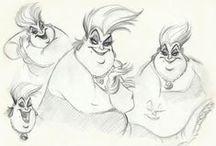 Disney Character & Concept Designs / by Lisette Hanson