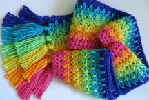 crochet and some knitting / just love to crochet. helps with my arthritis. / by Sylvia Weitzel
