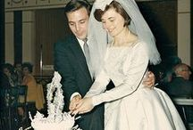 A Vintage Wedding / Vintage wedding items and snapshots / by JENNY ENVY
