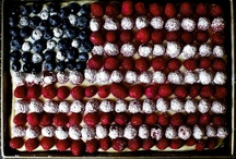 red white & blue / by Amanda Conley