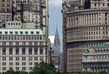 Places NYC 3 / New York City. Present & Past. People & Buildings. Gardens & Streets. Yellow cabs & Bridges / by Mike Catalonian