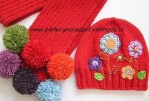 Crochet Kids Hats & Scarves  / by Linda Huff