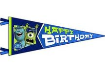 Monsters Inc./University Birthday Party / by Stacey Fitch