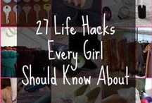 Life hacks! / by Telea Davis