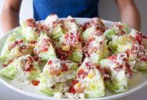 Salads-Slaw / by Dottie Burt