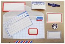 snail mail / a place to store snail mail inspiration #post #mail #snailmail / by Magdalena Franco