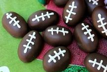 Football Food / Whether you tailgate at your favorite college or have the gang over for a Sunday afternoon you'll find fabulous recipes perfect for football weekends / by Micha @ Cookin' Mimi