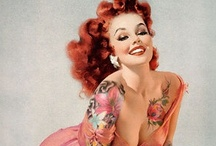 (Vintage) Pin-ups by Various artists / by Diane Laurino