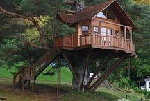 Treehouses / by Tina Perkins