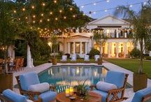 Beautiful Exteriors / by Stephanie Rucker