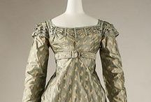 1800-1820 Women's Clothing / I try to pin only from original sites which have some information about the clothing; so keep clicking on the photo until you get there. / by Paula Guernsey