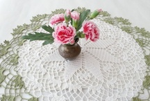 Home Decor / Crochet doilies, tablecloth, and lace stones / by DoSymphony