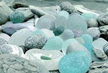 Beachcomber:  sea glass / by Monette McNaughton