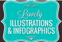 Lovely Prints, Infographic & Illustration / by Paula Toruño