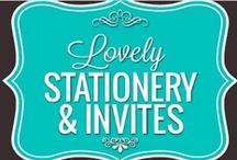 Lovely Stationery & Invites / by Paula Toruño