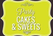 Party Cakes & Sweets / by Paula Toruño