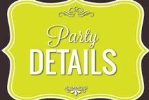 Party Details / by Paula Toruño