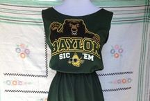 Green&Gold:Baylor Bold  / by quintessence
