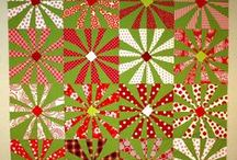 so delightful, Christmas quilts / inspirations for Christmas quilts / by Zen Chic, modern quilts by Brigitte Heitland