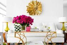 Golden Interiors / by DesignShuffle.com