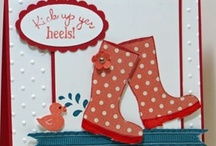 A Boots & Shoes Cards / by Beverley Berthold
