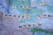 Wanderlust / A strong desire for or impulse to wander or travel and explore the world / by Pia Espinel