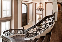 "Interior Design my way-The In Between / For all the extra spaces and the ""ways"". Entryways, hallways, stairways, etc.  / by Christa Jean Morin / Refined Style"