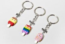 *♕  CHARMS , KEY CHAINS  ♕* / by ToxicMermaid