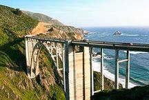 The Ultimate Highway One Road Trip / Drive. Dine. Walk. Gawk. Find joy. Explore 735 gorgeous miles of the iconic road with these essential stops along the way / by Sunset Magazine