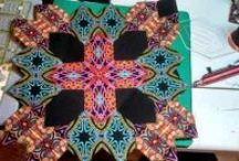 5 Quilting Lucy Boston and HEXIES + / by Tina Connolly