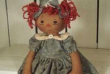Raggedy Dolls I Love / by Danice Gentle