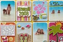 Beach/Tropical Scrapbooking / All Summer, Beach and Tropical Scrapbooking / by Debbie Peters