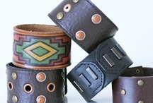 Jewelry - Leather / by Designs By Dawn Rene