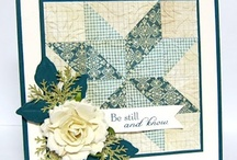 Cards - Blocks & Quilted / by Designs By Dawn Rene