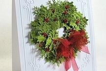 Cards - Wreaths / by Designs By Dawn Rene