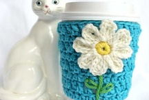 cup cozy and flowers / by Robin Vela