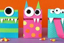 Kid crafts / by Kristen Watson