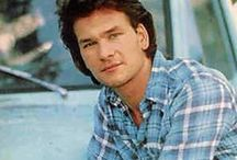 Patrick Swayze / Patrick Swayze is my husband. No buts', ifs', or's about it. I don't care if he is like fifty years older than me. Patrick could sing, dance, act, he did ballet, plus he played Darry in the Outsiders, he is awesome! Sadly he is dead, died from pancreatic cancer, but he shall be remembered.  / by Super Star