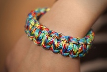 Paracord Bracelets  / love these, want some, need some paracord rope, lol / by Super Star