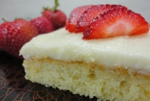 Cakes & Desserts / by Cathy Michels