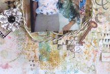 Scrapbooking inspiration / by Debi Clark