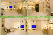 Ingenious Design Solutions in a Cozy 39 Square Meter Apartment / by Rent to Own. ph